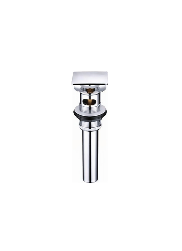 T013-A- BRASS CLICK-CLACK WITH SQUARE PLUG