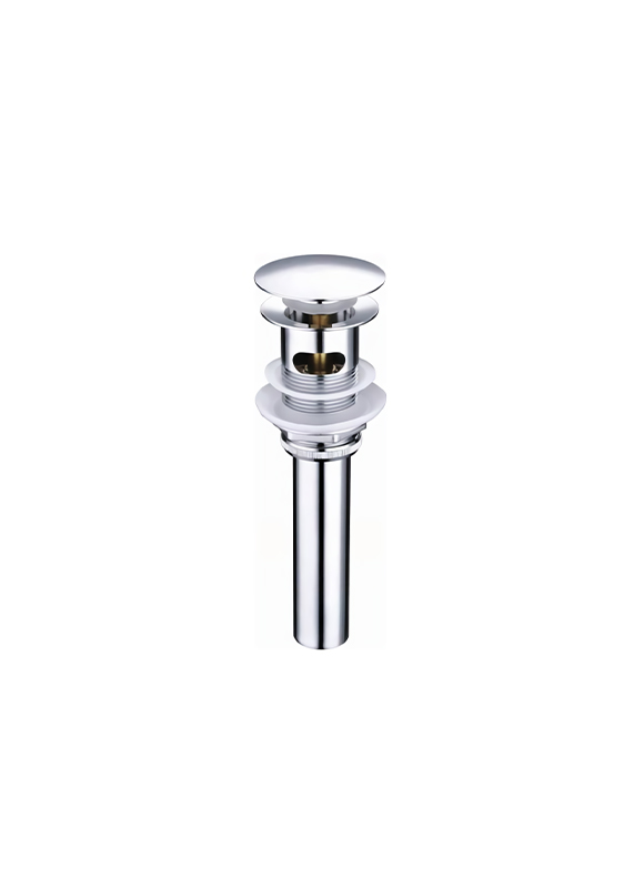 T1012-A-BRASS BASIN POP UP DRAIN WASTE WASTER DRAINER WITH TUBE