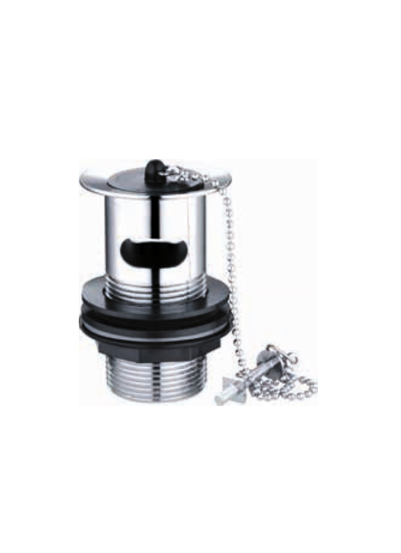 Drain Unblock Brass Catcher With Plug Chain T1036