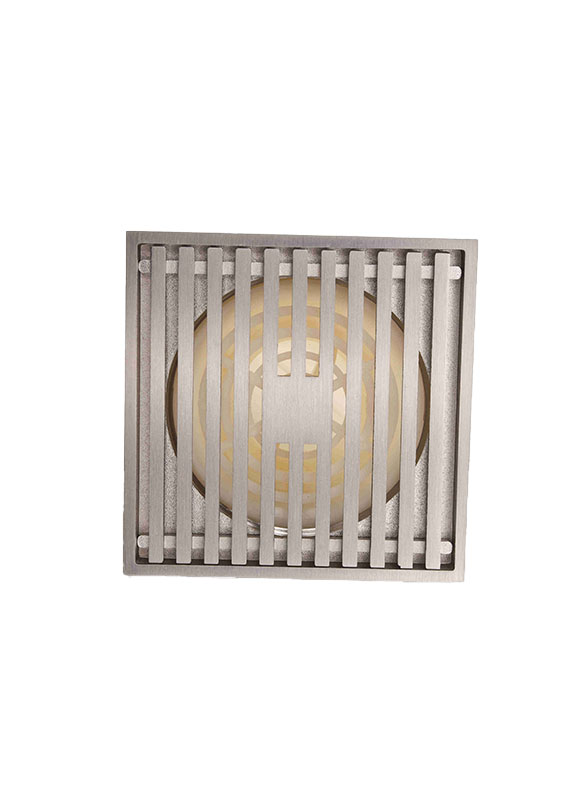 Stainless Steel Grille Cast Iron Floor Drain YB-1004